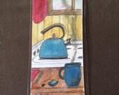 Tea kettle bookmark...