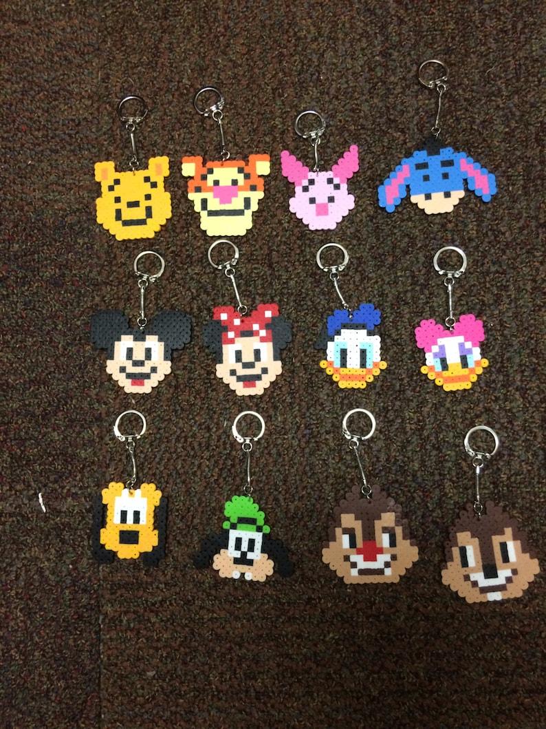Classic Disney Keychains Homemade