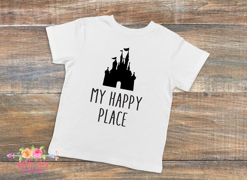 b63a262a My happy place Happiest place on Earth Disney lover Gift | Etsy
