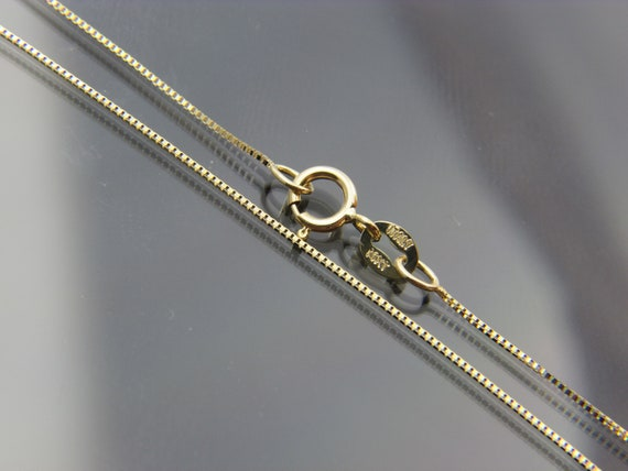 14kt yellow gold Square Snake chain necklace chain 16,16,20,22,24 WHOLESALE PRICE