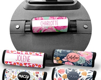 Customized Travel-Personalized Luggage Handle Wrap, Personalized Luggage Wrap, Luggage Finder, Monogrammed Gift, Personalized Gift, Suitcase