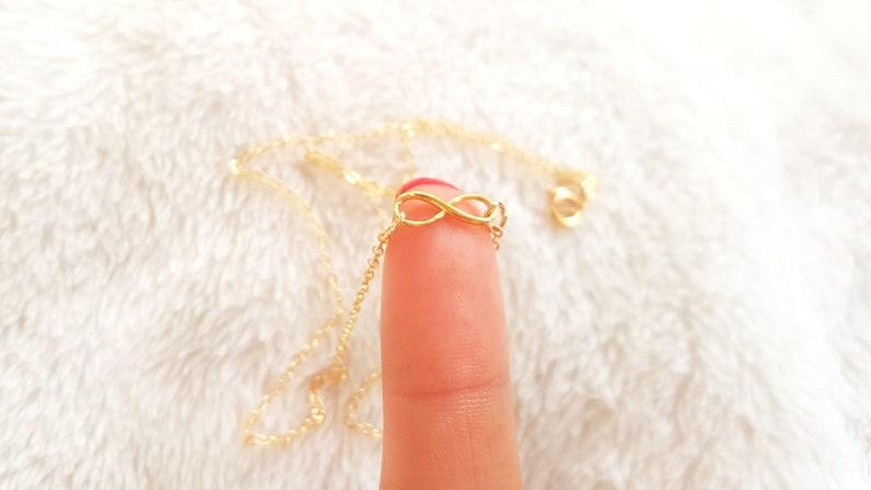 6c1e3c561c67 Collar Infinito. Collar Sencillo Oro. Collar Sencillo Plata de