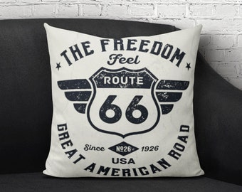 Route 66 Kussen Etsy