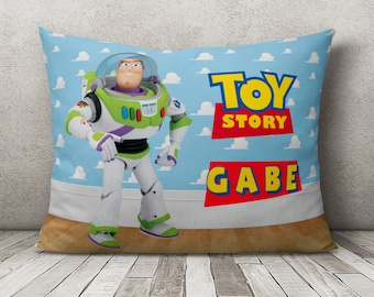 Girls Boys Toy Story Personalised Pillow Case ideal gift