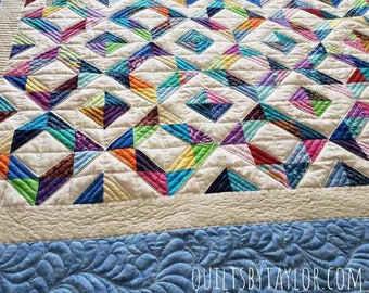 Homemade Quilts For Sale >> Handmade Quilts Etsy