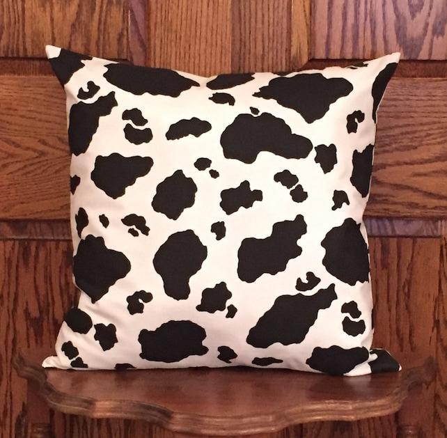 be0ae48b236 Cow print pillow cover cow pillow cow decor farmhouse