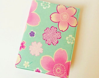A5 Planner Cover, Diary & Cover, Removable Book Cover, Fits Hobonichi Cousin, Japanese Cotton, OOAK, UK Seller