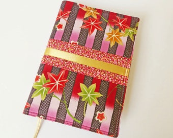 A5 'Kimono' Planner Cover, Diary, Journal, Notebook Cover, Removable Fabric Cover, Fits Hobonichi Cousin, Japanese Cotton Fabric, UK Seller