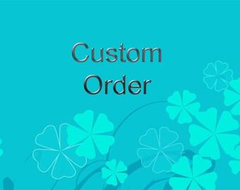 Custom Order, Reserved for M
