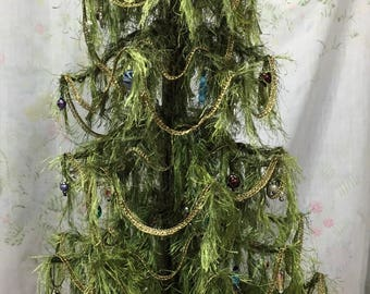Tree of Hope-Christmas Tree, Mixed Media, Sculpture , Art