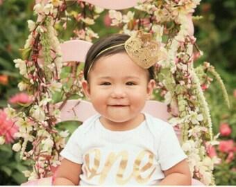 Rose Lace crown    photo prop    headband    Princess     First Birthday
