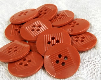 """JHB Blumenthal Lansing Buttons Red Truck Buttons 5//8/"""" Button"""