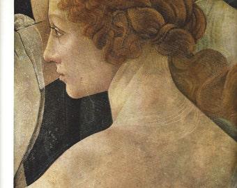 Metropolitan Museum of Art - Lithograph - Head of one of the Three Graces from LA PRIMAVERA - Botticelli - Plate 59