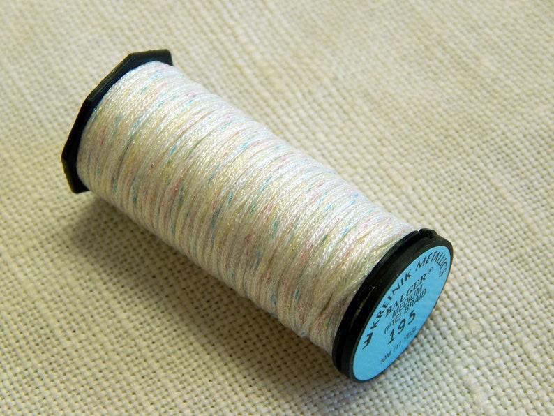 Medium #16 Braid Color 195 Sunburst Kreinik Balger Metallics 10 Meters By the Spool 11 Yards