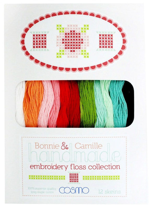 Color 634 Lecien Cosmo Cotton Embroidery Floss Bottle Green By the Skein Eight Meters