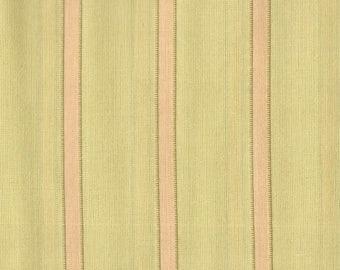 Moda - 3 Sisters - Paris Flea Market Series - Silky Woven Cotton - Green Pink Stripe - By the Yard