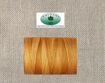 Valdani - US 24 WT - Euro 35 WT - Cotton Quilting Sewing Thread - O571 Tea Honey - 540 Yards - By The Spool