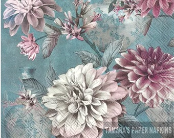 4  Paper Napkins   Daisies  Posy for DECOUPAGE and Crafting 86