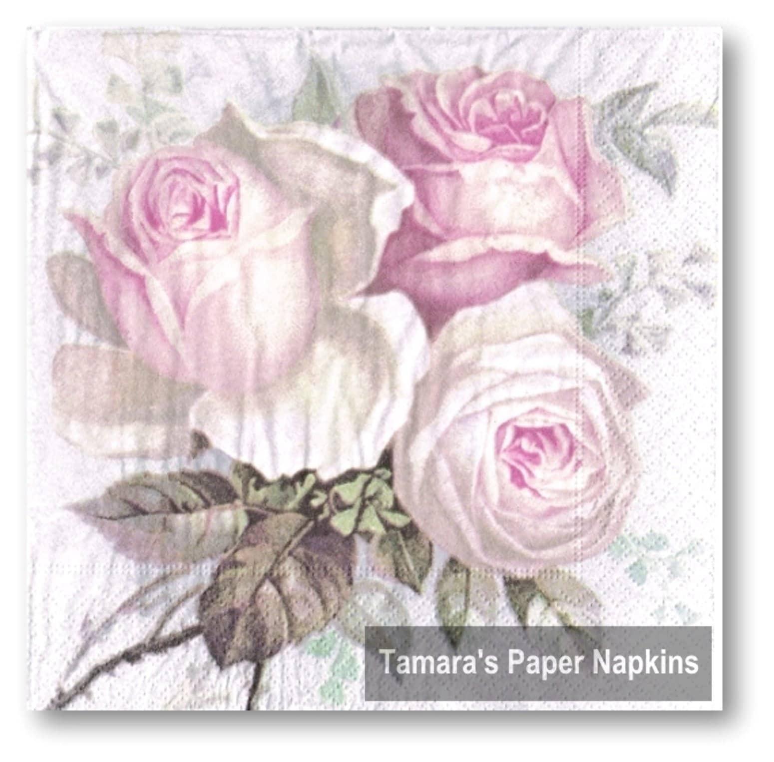 PAPER TABLE NAPKINS FOR CRAFT VINTAGE EGG EASTER DECOUPAGE TEA PARTIES 294