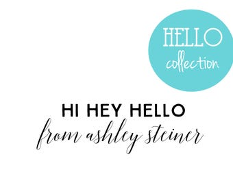 HELLO Stationery Set