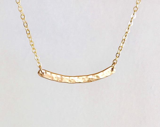 The Mini CLAIRE Bar Necklace