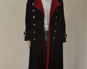 80s Evergreen Midi Coat  Fits up to an Extra Large