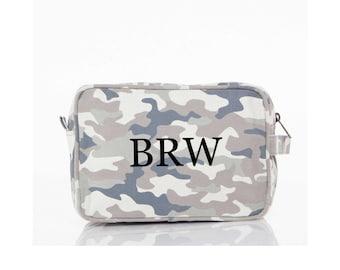 Travel Kit - Mens Dopp Kit - Mens Toiletry Bag - Camo Travel Bag - Camouflage Toiletry Bag - Groomsman Gift