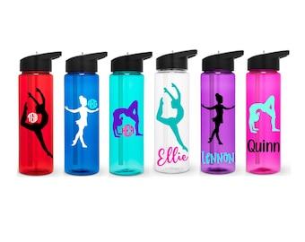 Dance Water Bottle, Dancer Water Bottle, Personalized Water Bottle, Recital Gift, Dancer Gift, Dance Gift, Personalized Dancer Gift