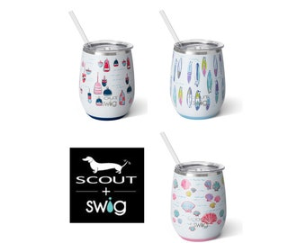 Scout Stemless Wine Cup - Scout Swig wine glass
