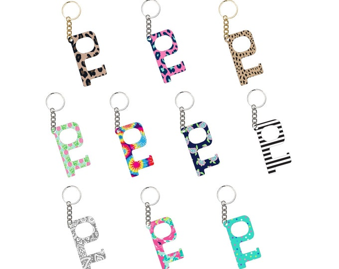 Hands Free Keychain, Leopard Keychain, Cheetah Keychain, Camo Keychain, Hands-Free Keychain, Hands Free Tool