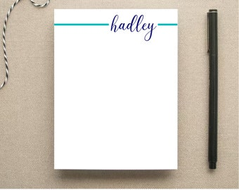 Personalized Note Pad - Linear