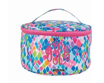 Personalized Makeup Bag - Monogrammed Make Up Bag - Cosmetic Bag - Train Case - Leopard Cosmetic Bag - Bridesmaid Gift - Toiletry Bag