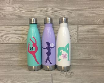 Dance Water Bottle, Dancer Water Bottle, Personalized Water Bottle, Dancer Gift, Dance Gift, Personalized Dancer Gift, Ballet Water Bottle