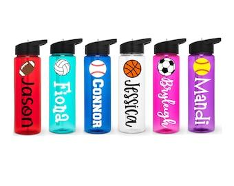 Sports Water Bottle, Personalized Sports Bottle, Team Sports Water Bottle, Team Gift