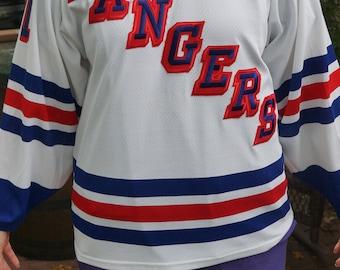 Vintage CCM Messier Rangers Jersey 22c39275a