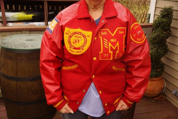Antique Marine Military Band Jacket
