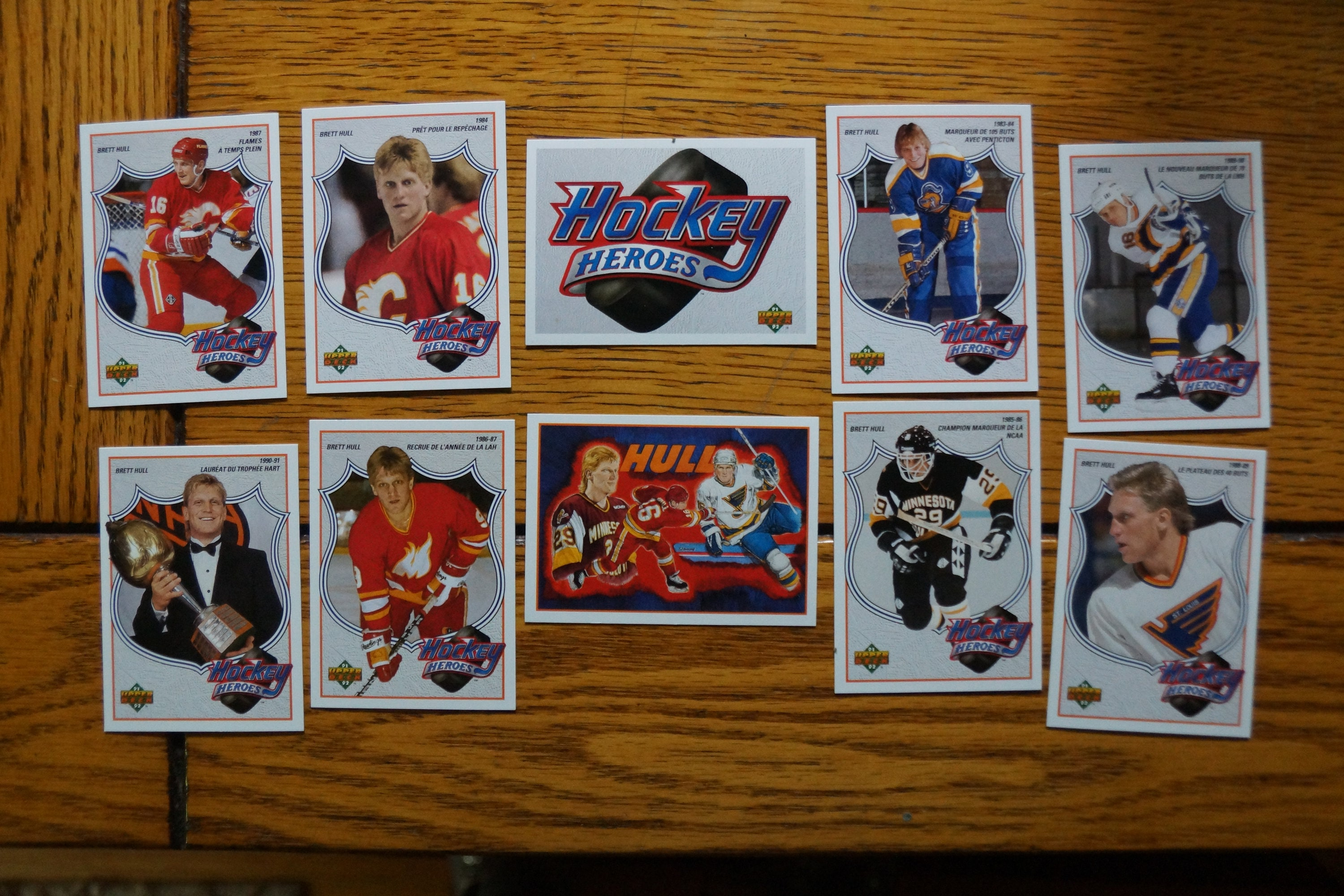 Brett Hull Bluesflames Collection