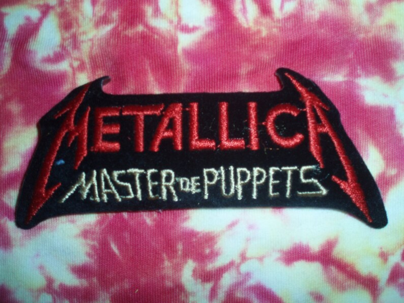 17895b75dd505 Metallica Patch Master of Puppets Collectible James