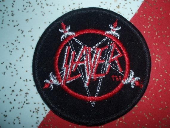 0a5c99d7da711 Slayer Patch Thrash Metal Collectible