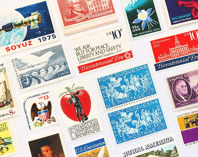 Unused Postage Stamps for Mailing