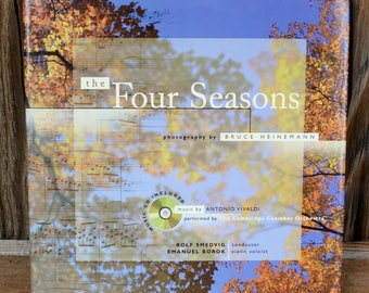 """Vintage """"The Four Seasons"""" Photo Book with Music CD"""