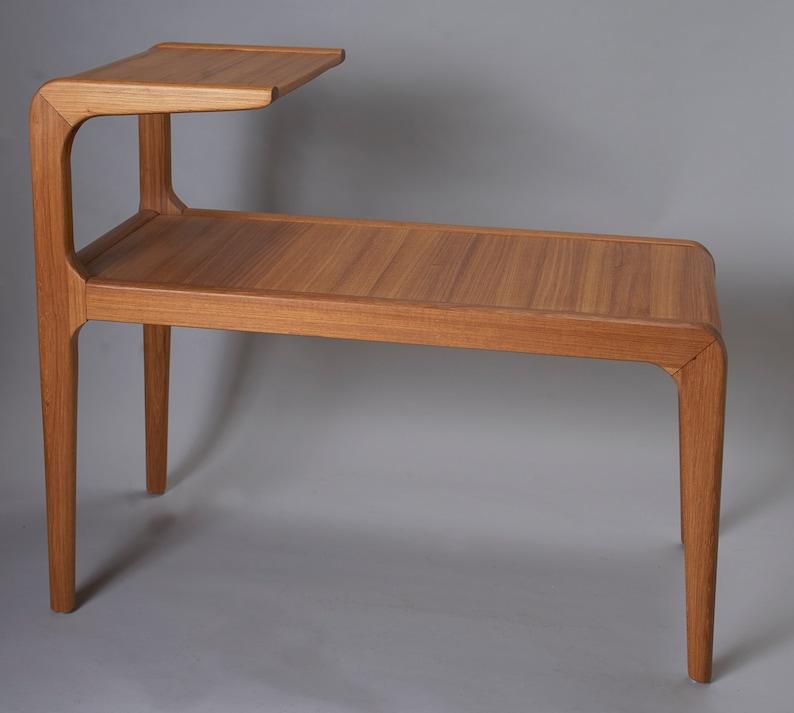Side Table Teak.Danish Style Side Table Teak Wood