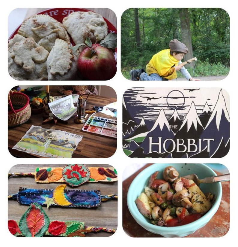 The Hobbit Family Learning Adventure Guide PDF image 0