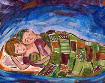 Motherhood Series : Expectation, Progression, Devotion, Surrender