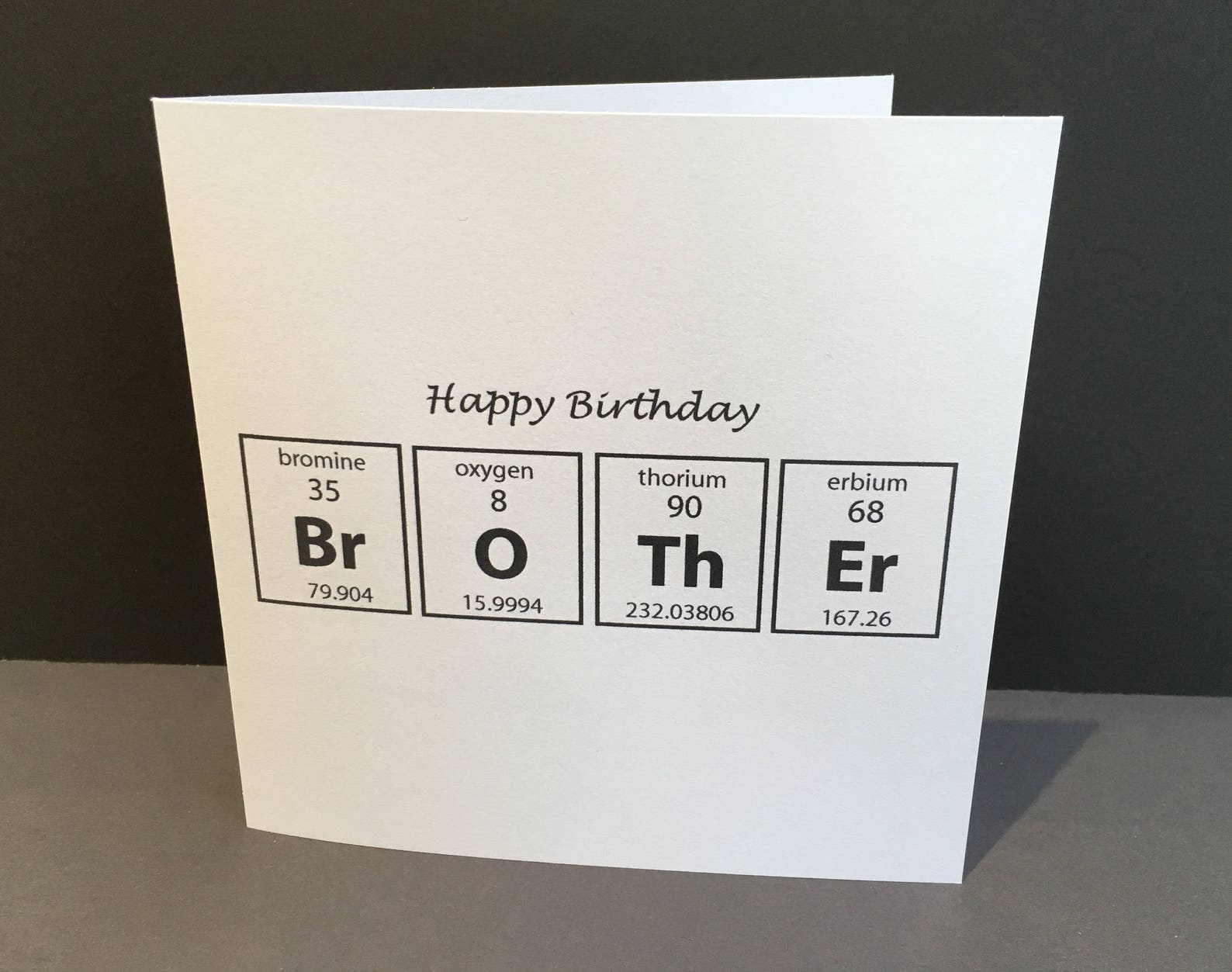 geburtstagskarte für einen bruder karte für einen chemiker