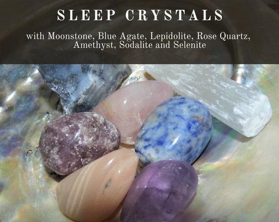 Sleep Crystals,  Crystals for Sleep,  Sleep Remedy Crystals, Sleep Treatment,  Crystal Healing