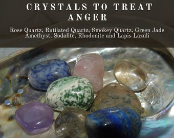 Crystals for Anger, Crystals to treat Anger,  Healing Anger Crystals