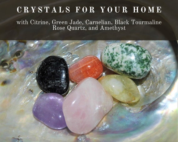 Home Crystals, Home Energy Crystals,  Positive Home Energy Crystals,  Crystals for Your Home