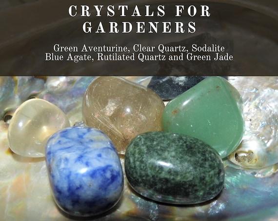 Garden Crystals, Crystals for Gardens,  Gardeners' Crystals,  Crystals for Gardeners