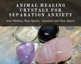 Animal Separation Anxiety Crystals, Animal Anxiety Crystals,   Crystals as Therapy for Animals